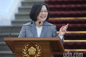 韩国瑜罢免危机 <u>蔡英文</u>:是否引回响要看韩自己的表现