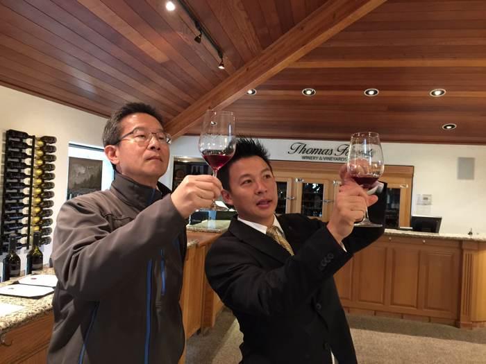 2015 潘大鈞 舊金山NAPA酒莊米其林之旅
