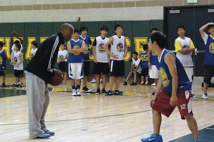 2017 第4屆美國金州勇士籃球營