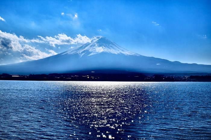 富士山絢爛美景