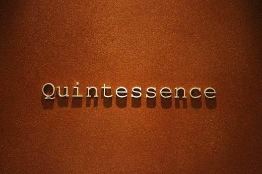 品米其林三星Quintessence