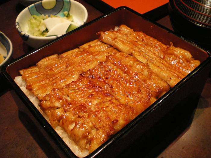 米其林一星野田岩鰻魚飯