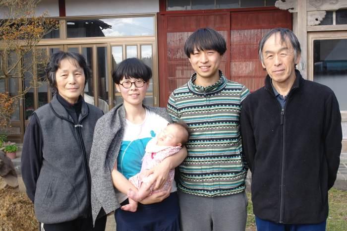 三代務農的山岸家族