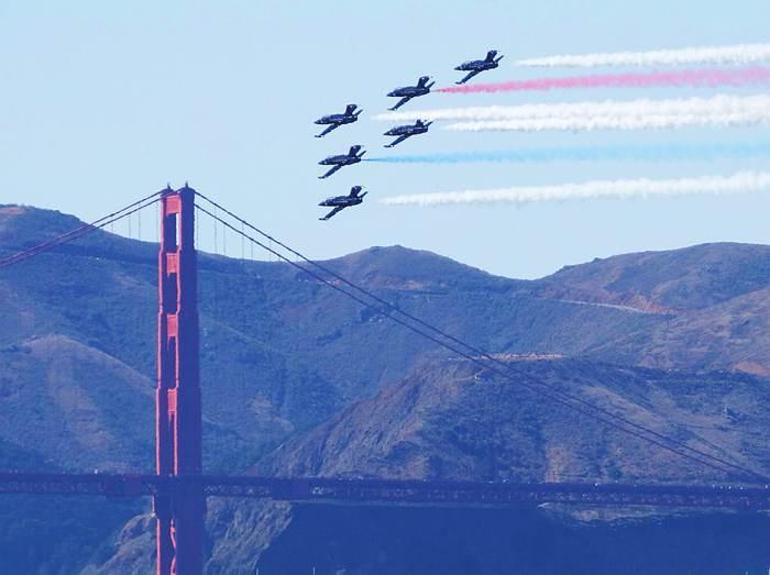 美國海軍艦隊周航空表演