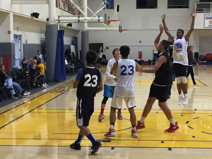 2018.金州勇士籃球營