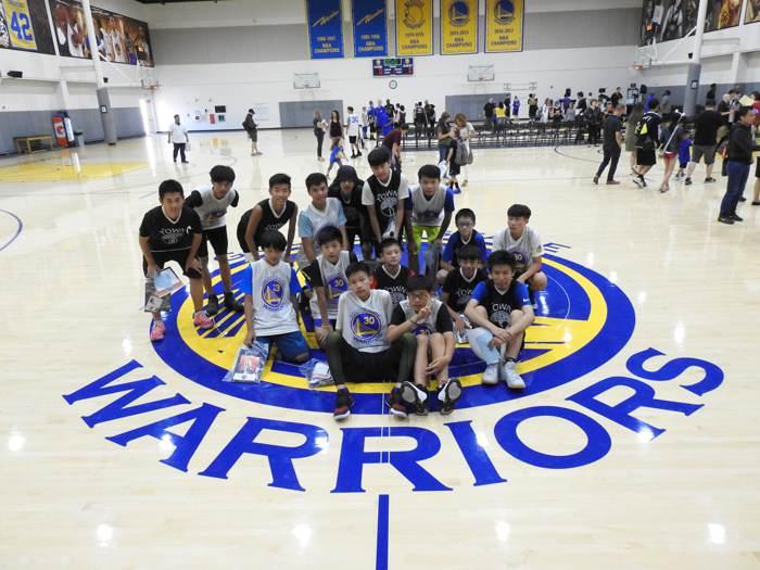 2019‧6th美國金州勇士籃球營