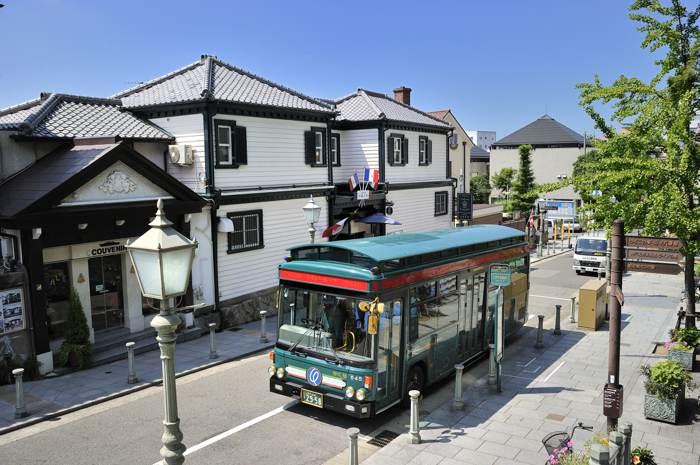 北野區域巴士 ©KOBE TOURISM BUREAU