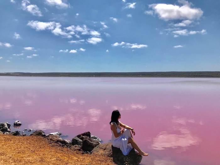 飛越粉紅湖.蔚藍西澳人文生態慢活遊