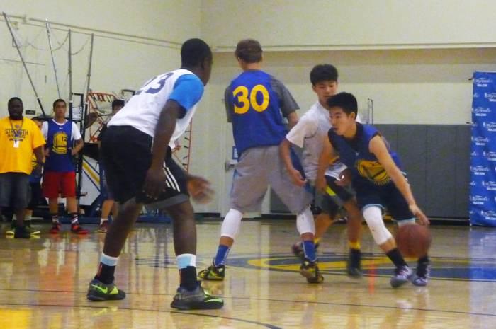 2016 第3屆美國金州勇士籃球營