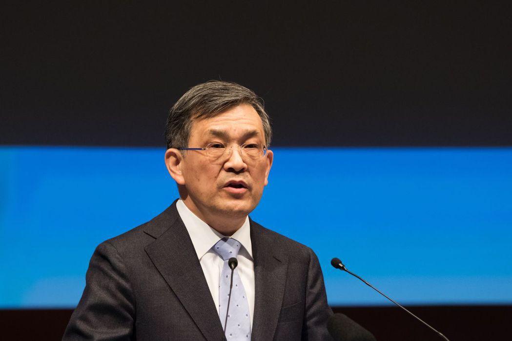 三星電子共同執行長權五鉉(彭博資訊)