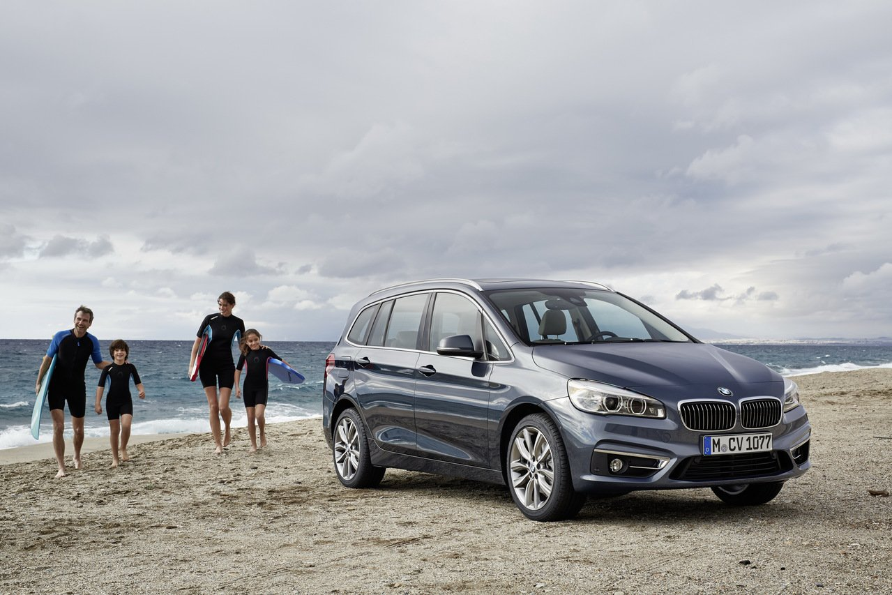BMW 2 Series Gran Tourer。 圖/BMW提供