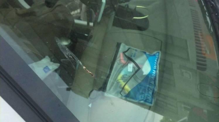 警方在潘男車上查獲1包海洛因(0.25克)、注射針頭、吸食器等,訊後移送士林地檢...