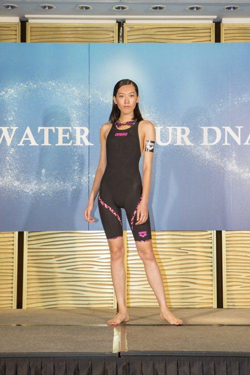 Arena為里約奧運設計的Powerskin系列新款泳裝。圖/Arena提供