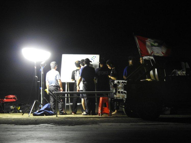 警消獲報後派出大批人力搜救。記者王宣晴/攝影
