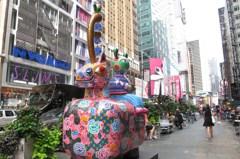 花漾動物嘉年華 洪易雕塑放異彩