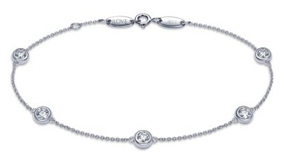 Infini Love Diamond Iconic系列18K白金鑽石手鍊,建議...