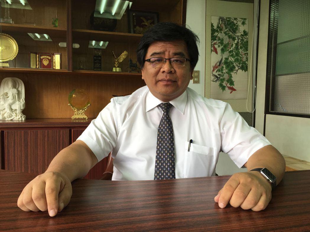 生展生技董事長陳威仁。記者黃文奇/攝影