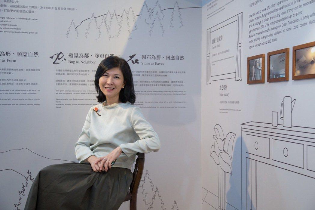台達綠建築展策展人郭珊珊。圖/台達電子基金會提供