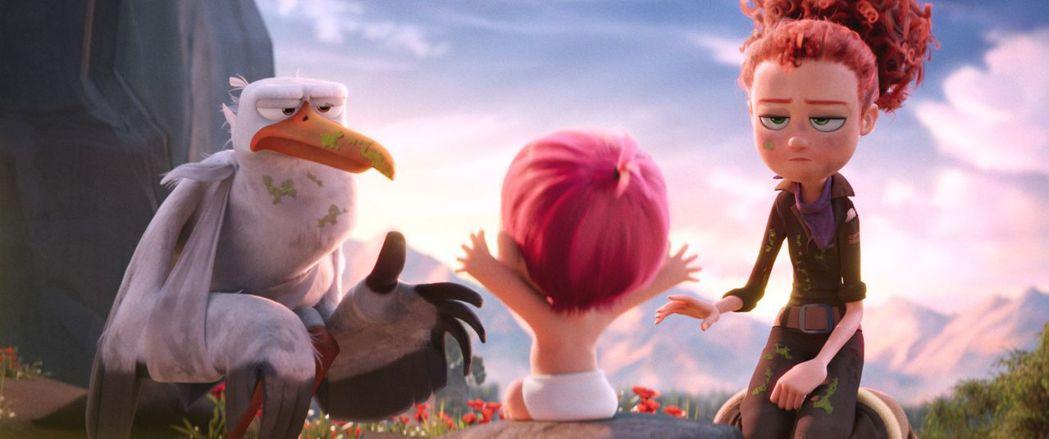 國慶檔期上映的【送子鳥】適合闔家欣賞。華納兄弟提供