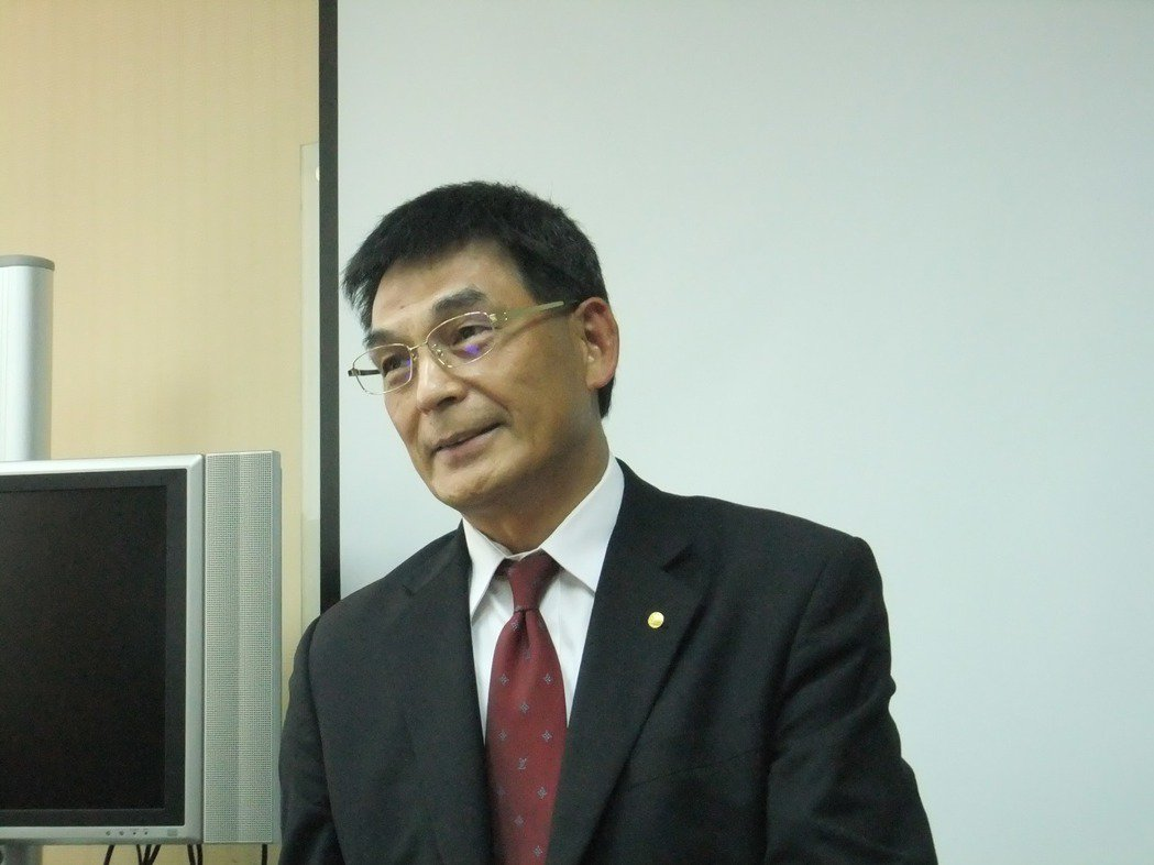 戴德梁行總經理顏炳立。 記者游智文/攝影