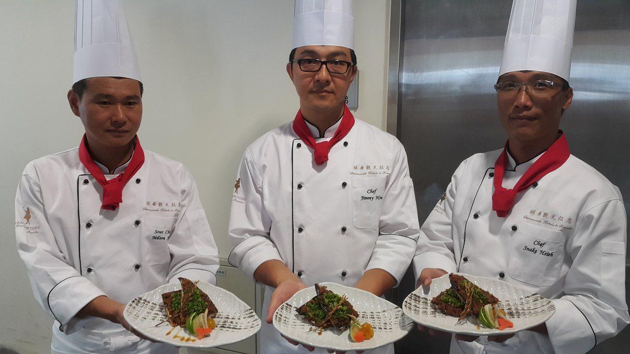 南方澳鯖魚文化季請吃星級鯖魚料理。記者廖雅欣/攝影