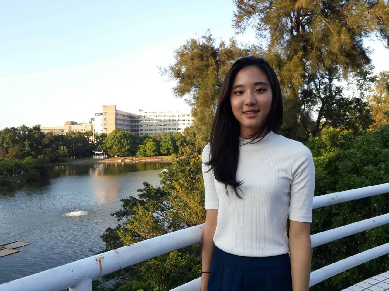 清大外語系大二宋俐瑩,未來希望當一名編輯。記者鄭語謙/攝影