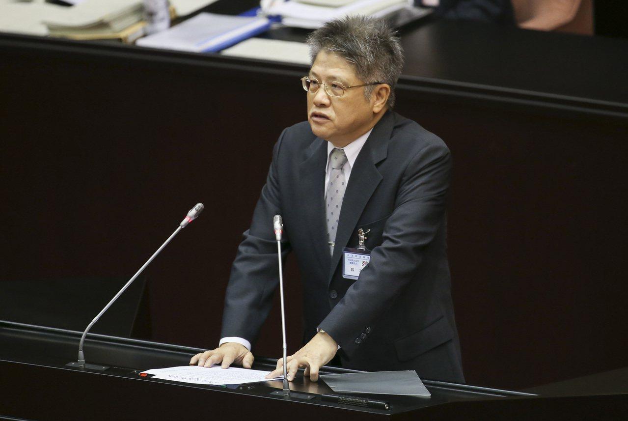 司法院大法官被提名人許志雄。記者楊萬雲/攝影