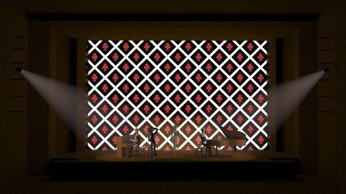 9月底在台北國家音樂廳登場的「新點子樂展」,邀請燈光設計師鄧振威設計精彩的燈光,...