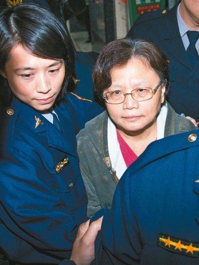 交通部前部長郭瑤琪(右)被判刑確定後提非常上訴,最高檢察署以法律適用並無錯誤駁回...