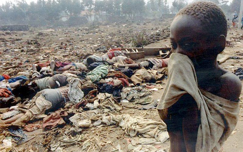 從1994年4月6日至7月中旬的一百天裡,約有50萬-100萬人被殺,約佔當時全...