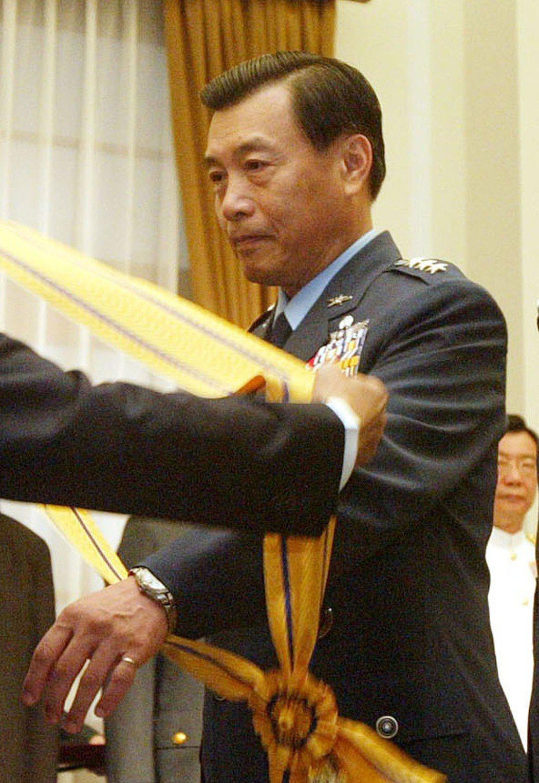 國安局新任局長將由前空軍司令彭勝竹(圖)出任。 中央社檔案照片