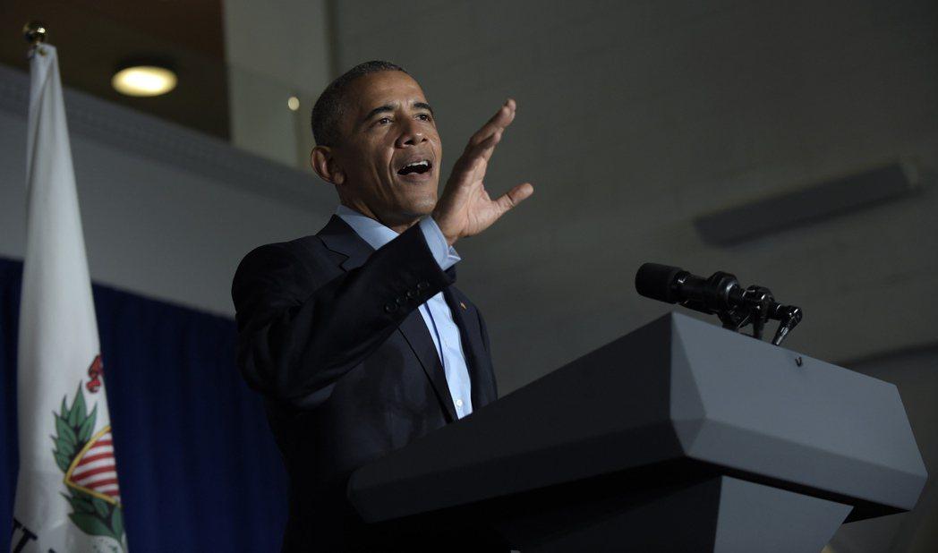 美國總統歐巴馬 美聯社