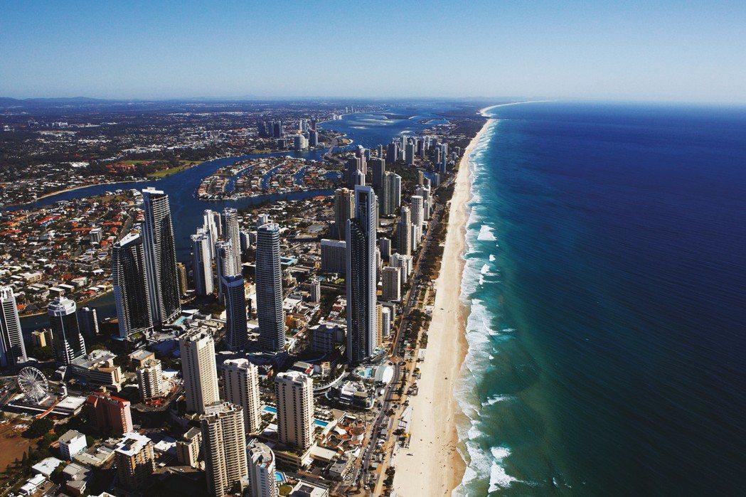 黃金海岸度假度過溫暖冬天。圖/澳洲昆士蘭州旅遊暨活動推廣局提供