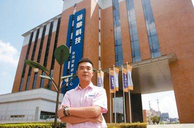 研華科技工業平板應用產品部總監莊哲豪。 圖/記者胡明揚 攝影