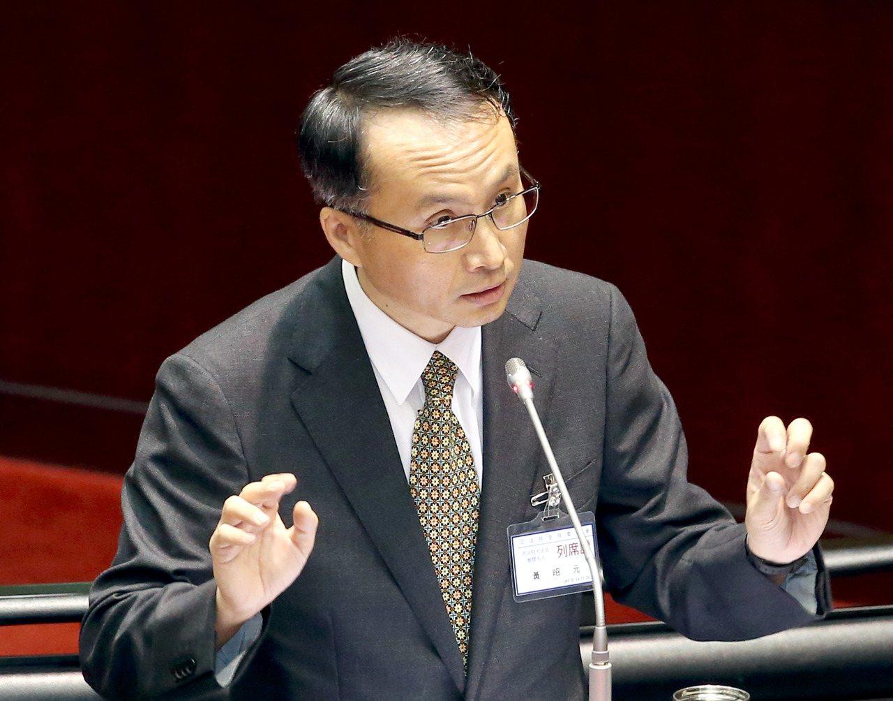 大法官被提名人黃昭元。記者屠惠剛/攝影