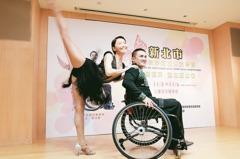 輪椅上舞動人生 他赴德國比賽