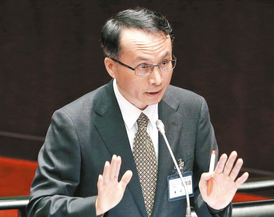 大法官被提名人黃昭元。 記者屠惠剛/攝影