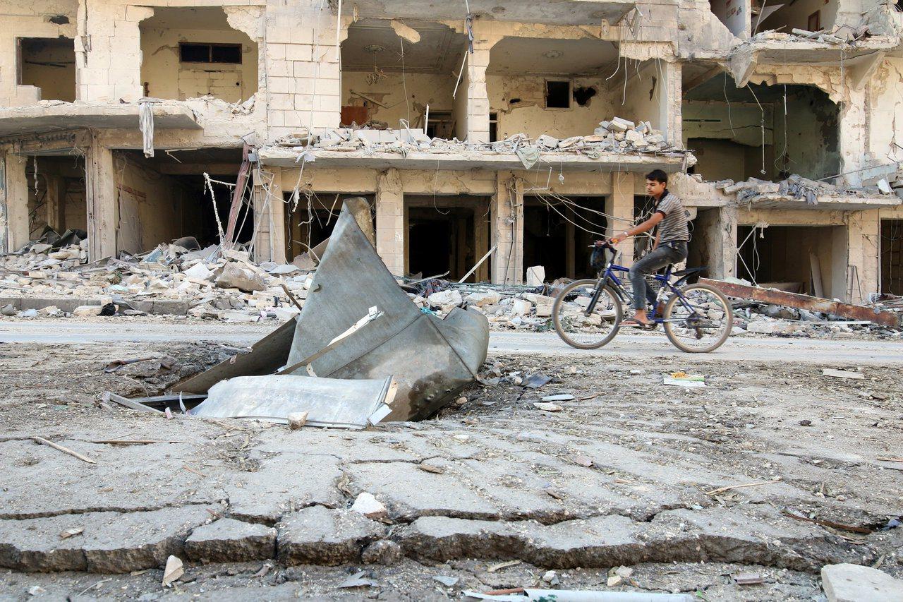 聯合國人權理事會認為轟炸阿勒坡已成歷史罪行。圖/路透社