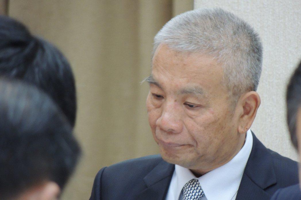 財政部長許虞哲表示。記者張為竣/攝影