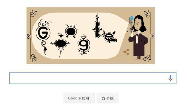 微生物學之父安東尼‧菲利普斯.范.雷文霍克384歲冥誕,Google以首頁塗鴉致...