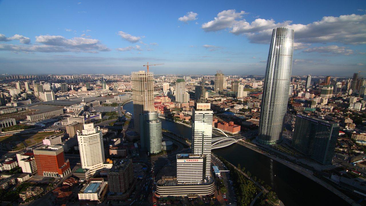 中國社科院指出,大陸已有六個省市人均GDP進入「高收入階段」,其中天津人均GDP...