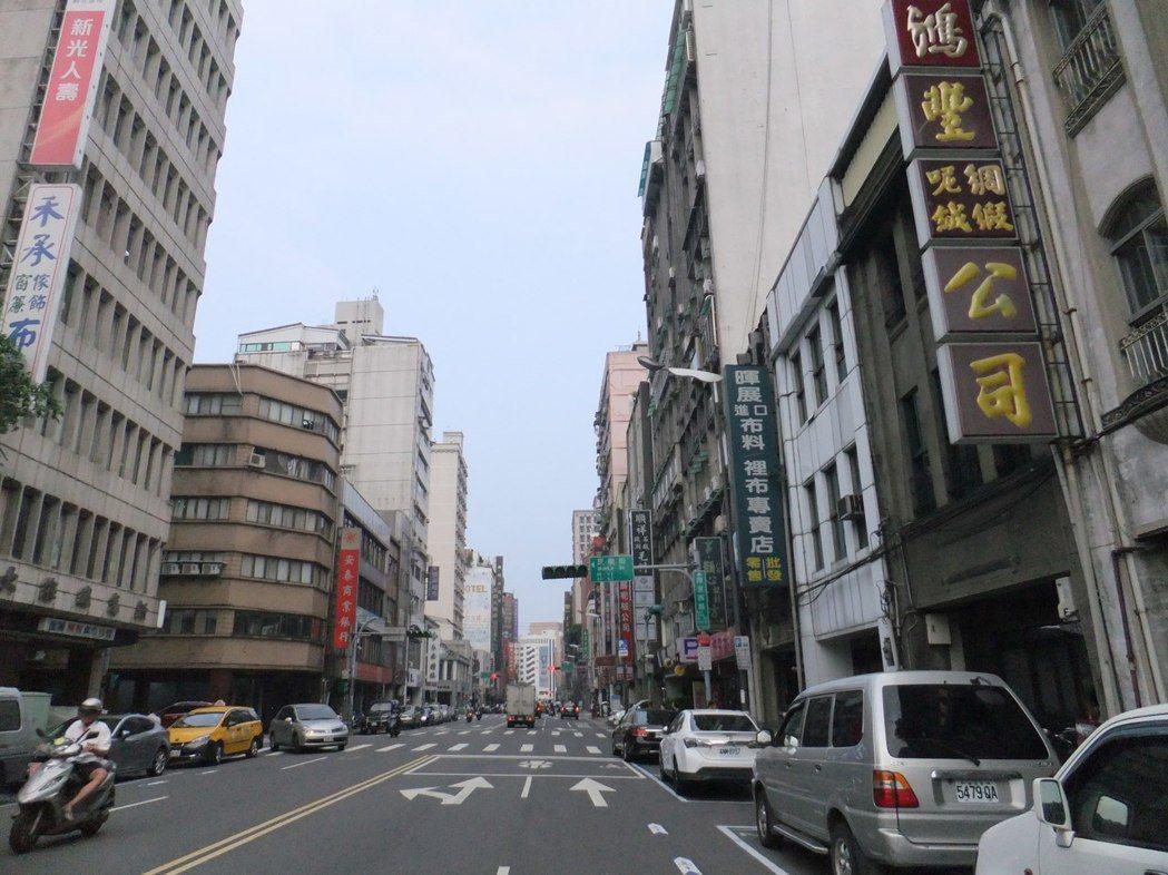 北市大同區。記者游智文/攝影
