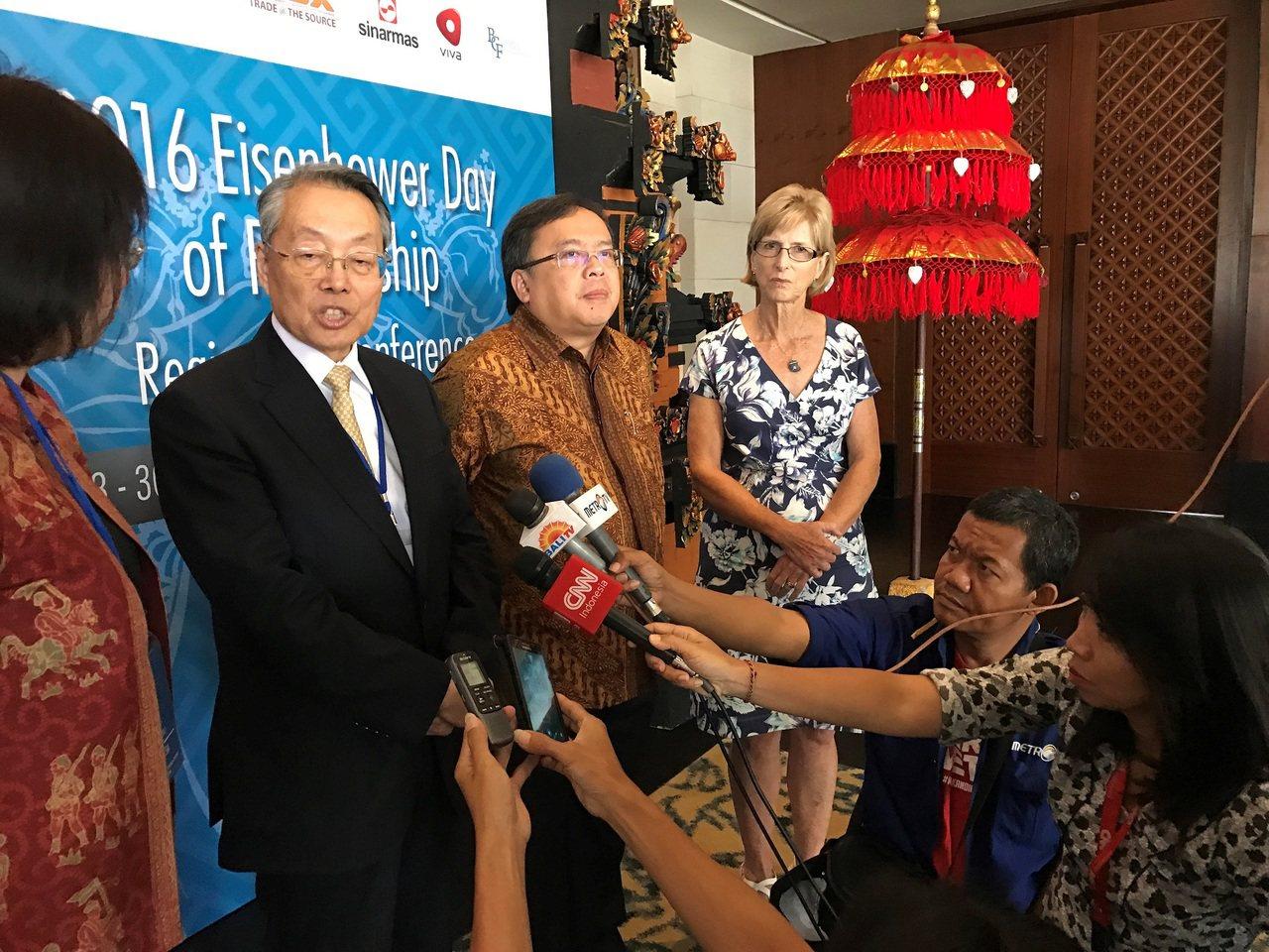 宏碁集團創辦人施振榮受邀赴印尼峇里島對艾森豪獎得主發表專題演講 圖:智榮基金會提...