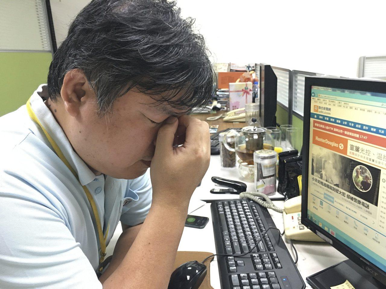 熬夜睡眠不足除了隔天上班上課精神不濟外,更可能引起嚴重的健康危害。記者江慧珺/攝...