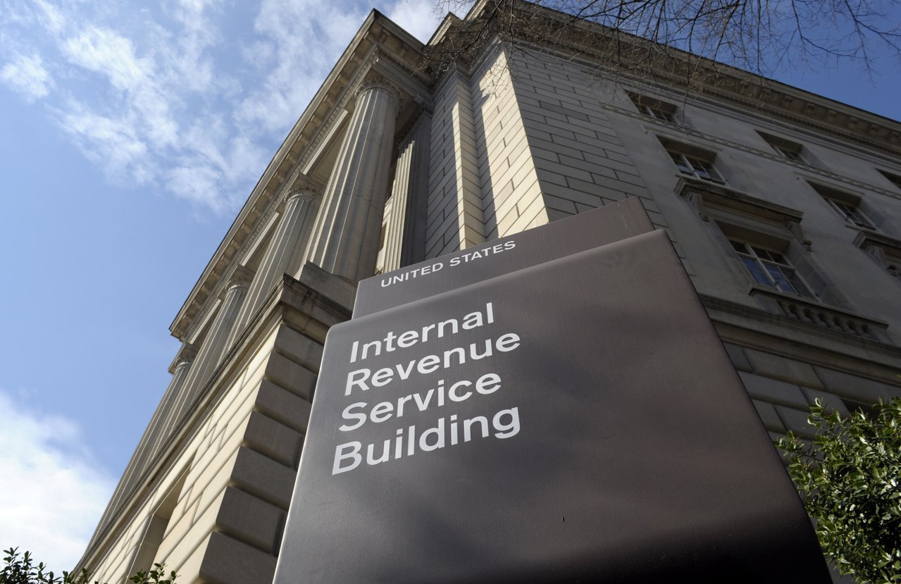 位於華盛頓的國稅局。美聯社資料照