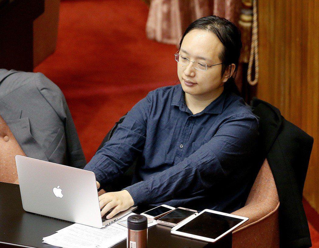 政務委員唐鳳。 圖/聯合報系資料照片