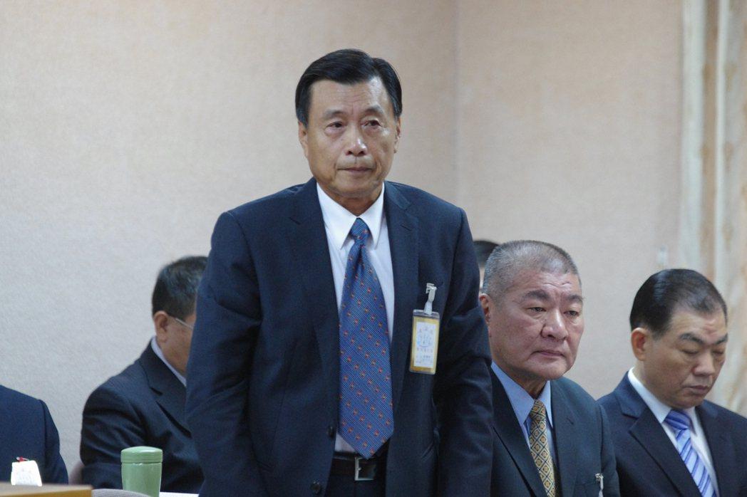新任國安局長彭勝竹首度到立院報告備詢。記者程嘉文/攝影