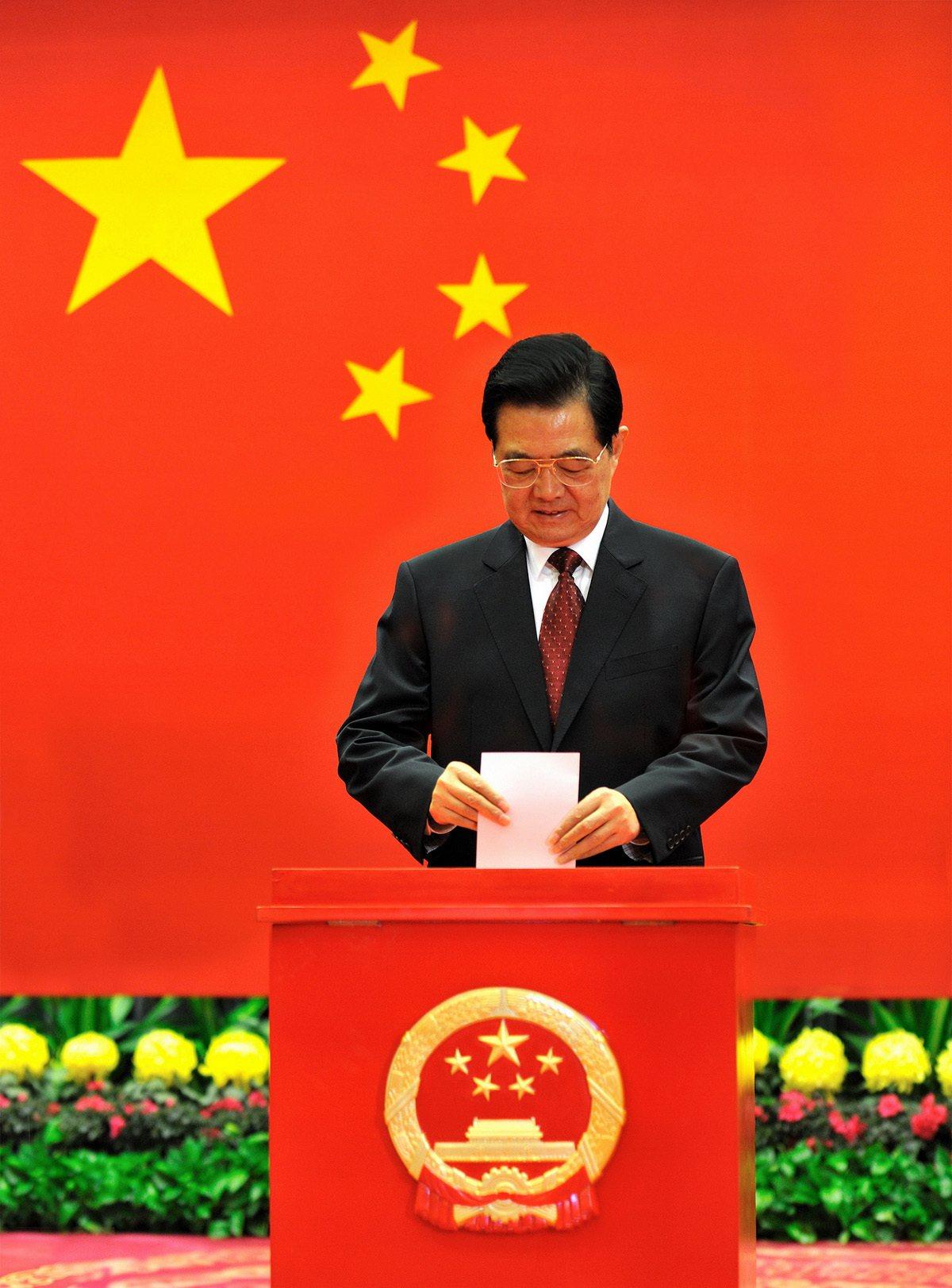 胡锦涛重病?缺席北京人大选举