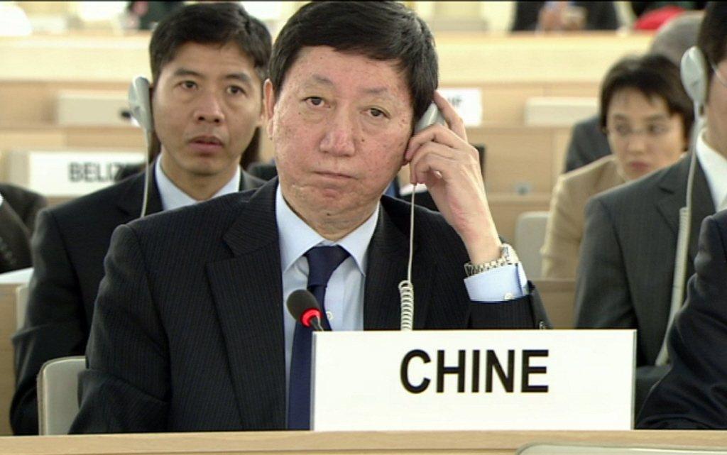 中國大陸常駐聯合國副代表吳海濤。圖/新華社資料照