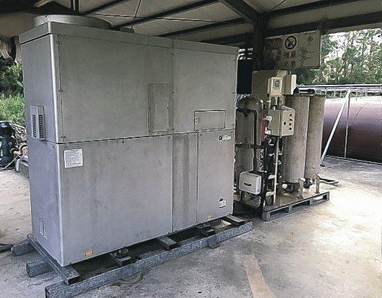 亞洲氫能位於屏東的沼氣發電系統。 亞洲氫能/提供